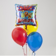 One Mylar - 3 Latex Balloon Bouquet