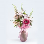 Bright & Beautiful Blooms Vase