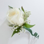 Single Sweetheart Rose Boutonniere