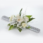 Elite 5 Tea Rose Wrist Corsage