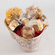 Popcorn Gift Basket-Large