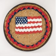 12 inch American Flag Cookie